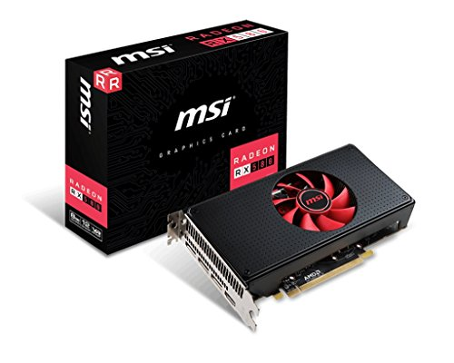 (MSI Gaming Radeon RX 580 256-bit 8GB GDRR5 DirectX 12 VR Ready CFX Graphics Card (RX 580 8G V1))