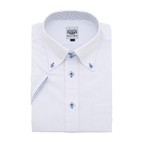 研究サラミスクラップ(ハビラモード) HAVILAH MODE ワイシャツ 半袖 単品 5柄 メンズ 形態安定 H101-H105 S M L LL 3L 4L 5L 6L