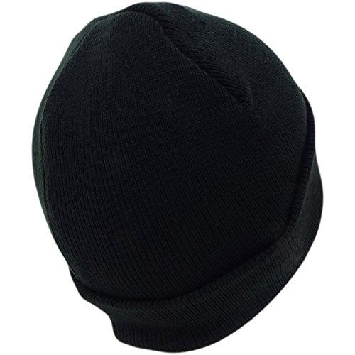 negro de Hombre Gorro para Básico Penguin Original Punto zwTE70Tq