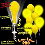 Lumi - Loons Balloon Lights Yellow Balloons White Lights - 10 Pack