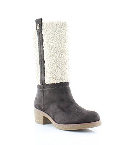 Tommy Hilfiger Women's Ynez Snow Boot, Brown, 7.5 M US ()
