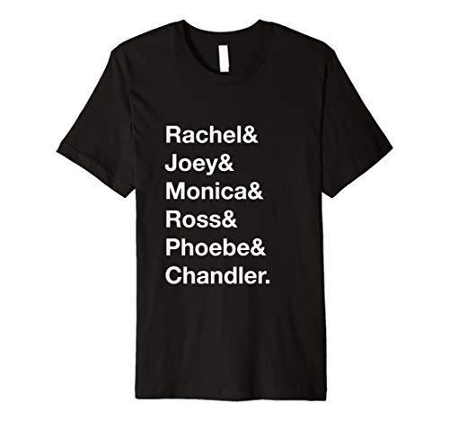 Rachel Joey Monica Ross Phoebe Chandler Ampersand Shirt