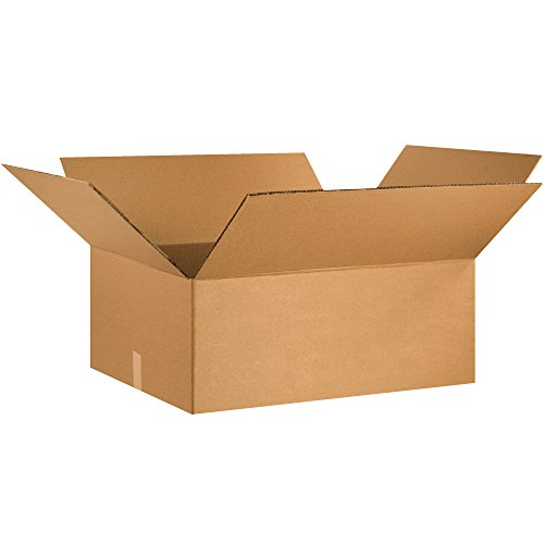 Boxes Fast BFHD302412DW Double Wall Corrugated, Heavy-Duty Cardboard Boxes, 30