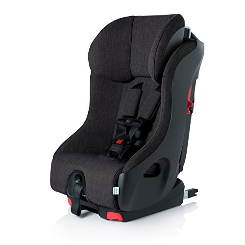 Clek Foonf Rigid Latch Convertible Baby and Toddler Car Seat, Rear and Forward Facing with Anti Rebound Bar, Slate 2018