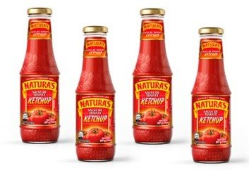Naturas Salsa de Tomate / Ketchup 14 oz - 4 Pack