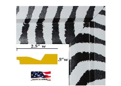 zebra picture frame 8x10 - 2