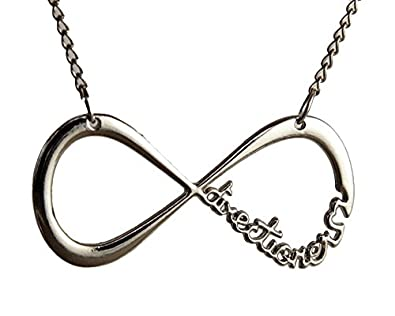 One direction silver plated infinity pendant for men and women one direction silver plated infinity pendant for men and women mozeypictures Gallery