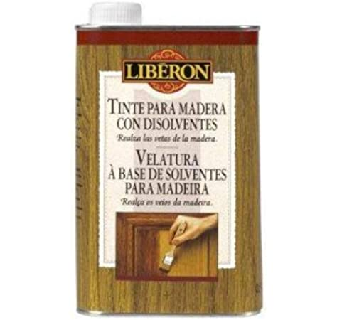 Liberon Tinte Para Madera Con Disolventes Roble Ahumado - 500ml ...