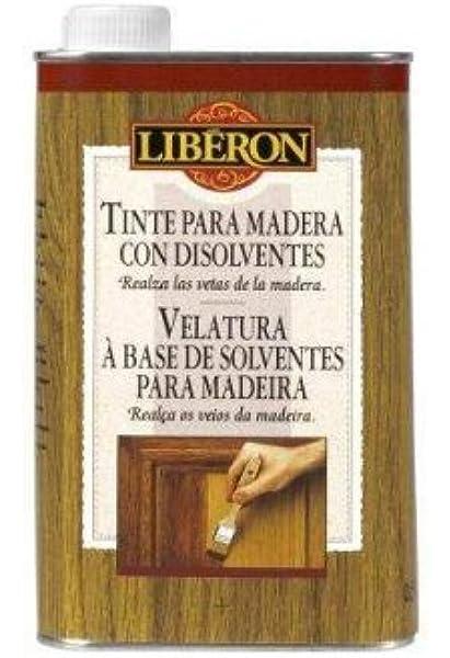 Liberon Tinte Para Madera Con Disolventes Roble Ahumado ...