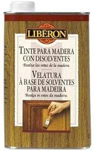 Liberon Tinte Para Madera Con Disolventes Roble Claro - 500ml ...