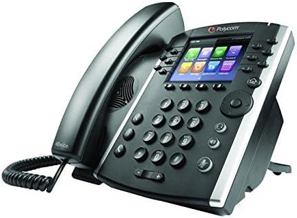 Power Supply Not Included Polycom VVX 411 12-Line IP Phone Gigabit PoE