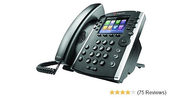 Polycom 2200-48450-025 VVX 411 12-Line Desktop Corded VoIP Phone