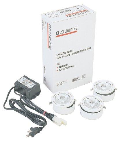 Elco Lighting E326W Miniature Halogen Downlight Kit