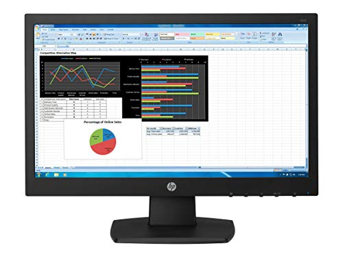 HP LED-Backlit LCD Monitor 21.5