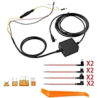 dosili Dash Cam Hardwire Kit for Garmin Parking Mode Power Cable, Dash Cam 45, 55 65,Mini 010-12530-03