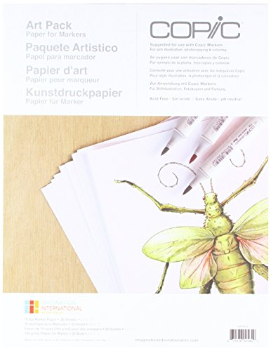 Copic Marker Paper Pack]()