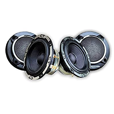 CT Sounds Meso 3.5 Inch Car Audio Midrange Speakers: Car Electronics