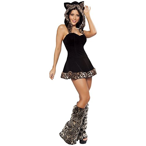 [Playful Pussycat Costume - Small - Dress Size 4] (Greek Cat Costume)