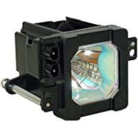 Lampsi TS-CL110UAA Replacement TV Lamp with Housing for JVC Televisions 1-Year-Warranty