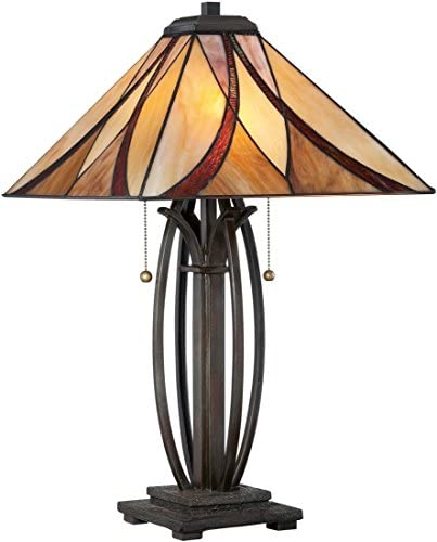 Quoizel TF1180TVA Asheville Tiffany Table Lamp