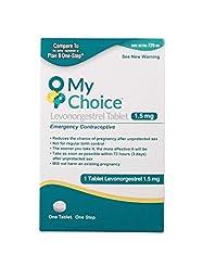 My Choice Emergency Contraceptive 1 Tabl...