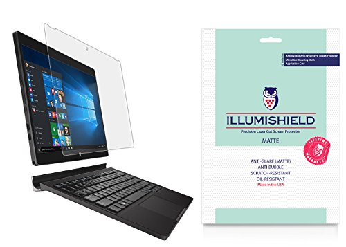 Dell XPS 12 Screen Protector (2015)[2-Pack], iLLumiShield - Anti-Glare (Matte) HD Clear Film/Anti-Bubble & Anti-Fingerprint/Japanese - Protector Xps 12 Screen