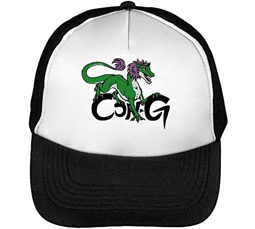 Negro Hombre Dragon Beisbol Snapback Blanco Gorras Cong ZB7qUq