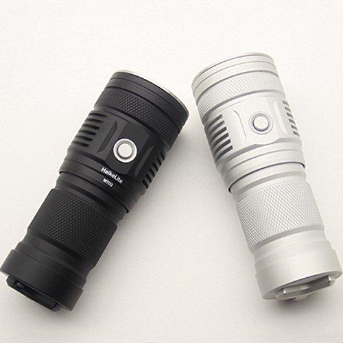 MT02 XHP35 HD CW 2500LM Thrower EDC LED Flashlight (Color Black)