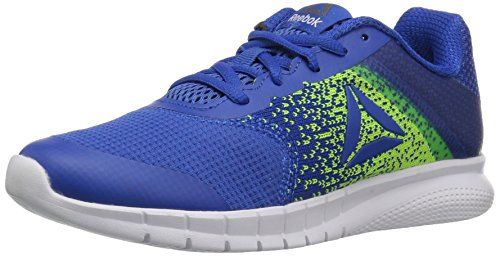 Reebok Baby Instalite Run Sneaker, Vital Blue/Electric Flash, 4.5 Child US Toddler