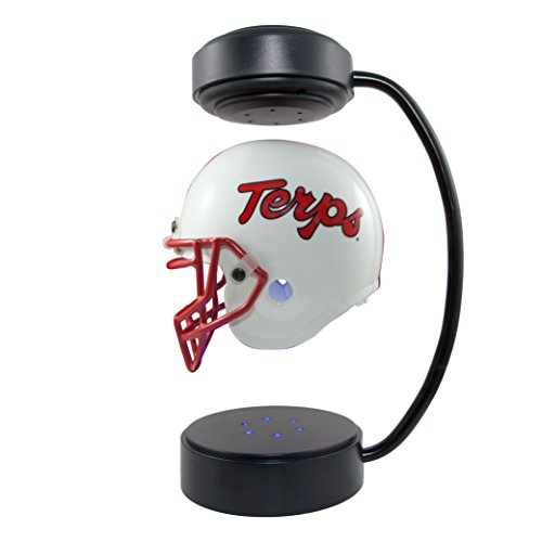 (Maryland Terps NCAA Hover Helmet - Collectible Levitating Football Helmet with Electromagnetic)