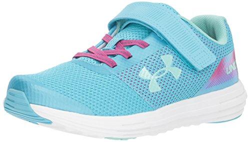 Under Armour Kids Pre School Surge Rn Prism Adjustable Closure Sneaker