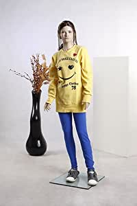 Beautiful Child Girl Female Full Body Fiberglass Realistic Mannequin Flesh Tone (BC03)