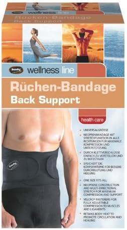 Body Coach - Faja Lumbar Ajustable, Color Gris y Negro ...