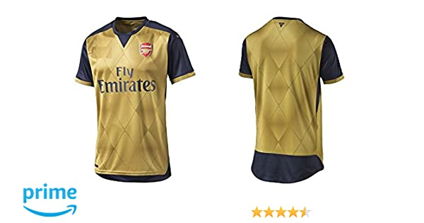 401e57355 Arsenal Home   Away Kids Soccer Jersey Alexis  17   Giroud  12   Ozil  11  FREE Shorts Set Kit Youth Sizes YS   YM   YL by Young Star Sports (YM 8-10  Years ...