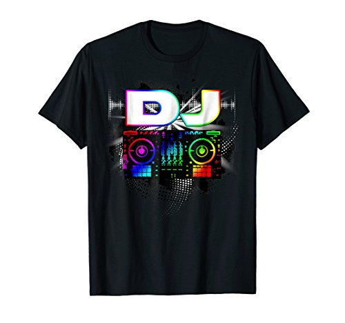 Dj Music Lover Music Player Sound Cool Funny T-shirt Gift