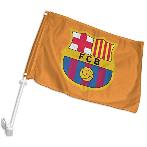 Barcelona Car Flag - DHDJHDJDL Barcelona Car Flag 12''x18''