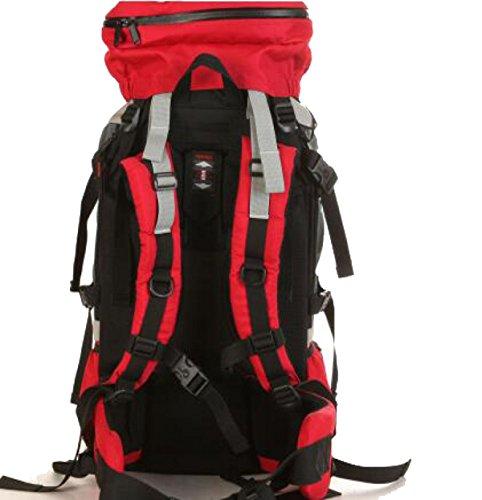 9ee5ba43e9 Zaino Da Trekking Grande Imballaggio Borsa Resistente All'acqua Per Il  Camping Di Arrampicata All ...