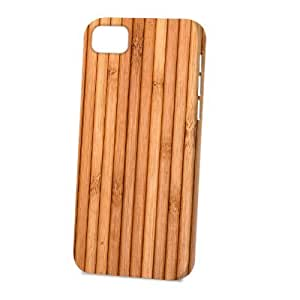Case Fun Apple iPhone 5C Case - Vogue Version - 3D Full Wrap - Wooden Deck