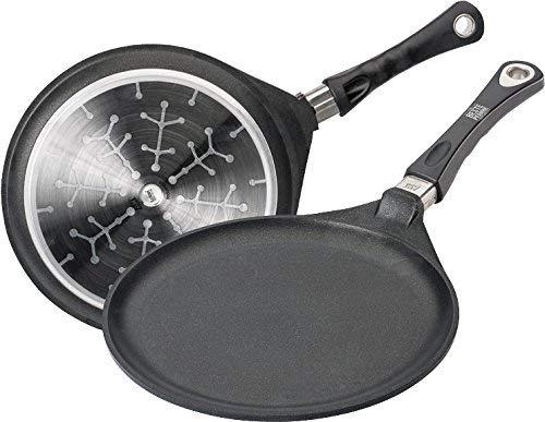 AMT Gastroguss 128Crêpe Pan 28Cm Round Aluminium