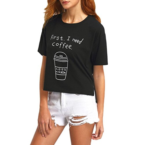 Blouse Manches À T Winwintom Mode Lettre 2017 Courtes shirt Femmes tqCWwgBW4