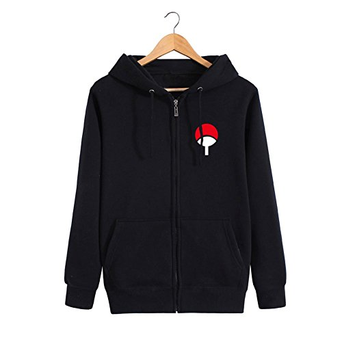 Weimisi Naruto Anime Zip-up Hoodie - Times Mail Delivery Us