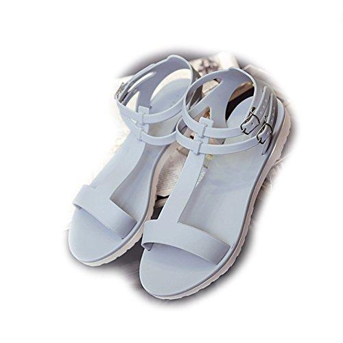 St.Roma - Sandalias de vestir de pvc para mujer gris