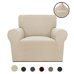 Amazon.com: PureFit Funda elástica para sofá – Funda de sofá ...