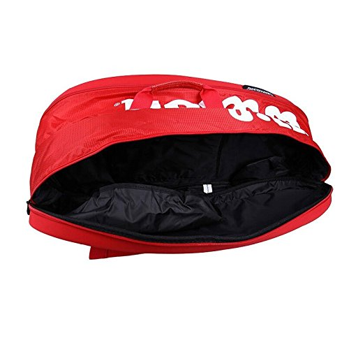 Wilson Tour Molded (9-Pack) Tennis Bag (Red) by Wilson (Image #4)