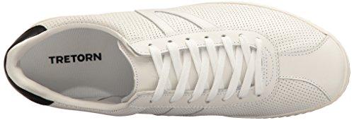 Sneaker Uomo Tretorn Camden2 Bianco / Bianco / Nero Traforato