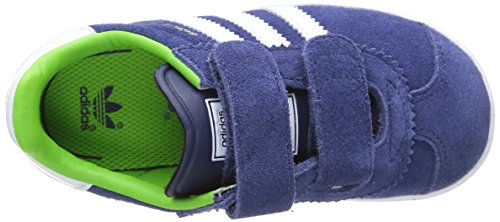 adidas Unisex-Kinder Gazelle CF 2 I Lauflernschuhe Azul / Blanco / Verde