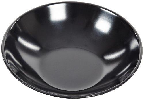 Carlisle 575B03 Melamine Salad Bowl, 13-oz. Capacity, 2'' Height x 6'' Diameter, Black (Case of 72) by Carlisle (Image #1)
