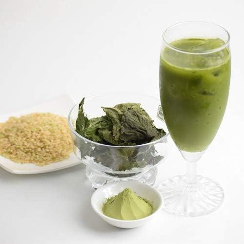 青汁 玄米粉 焙煎 送料無料 玄米茶 スティック 青汁粉末 桑茶 32本 焙煎玄米君 青森県産 メール便