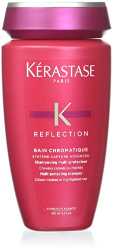 Kerastase Reflection Bain Chromatique Multi-Protecting Shampoo (Colour-Treated or Highlighted Hair) 250ml/8.5oz (Protecting Colour Conditioner)