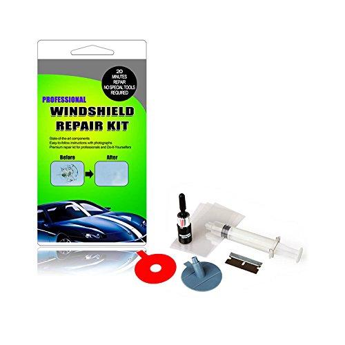 TOOGOO Kit riparazione parabrezza Kit riparazione finestrino parabrezza Vetro Scratch Crack Ripristina schermo finestra Lucidatura Auto-styling 149302